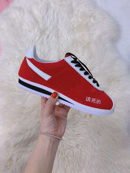 best website d8a76 05967 With BoxCortez Kung Fu Kenny Sneaker Men Women White Red Running Shoes  Jordans Sneakers Sneakers Sale From Sportscc, $81.22| DHgate.Com