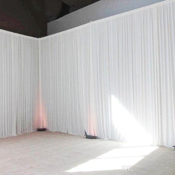 Красочный свадебный фон занавес события партии декор индивидуальные свадебные сцены фон шелковые драпировки украшения для сцены