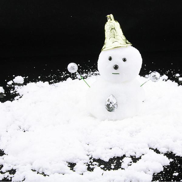 Künstliche Schneeflocken Gefälschte Magie Instant Snow Festival Party Dekorationen Für Garten Weihnachten Hochzeit Kunstschnee