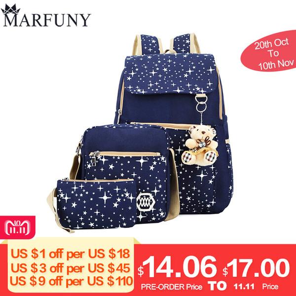 ... Fashion Bags   Backpack Style  . 2019 FashionFashion Composite Bag  Preppy Style Backpacks For Teenage Girls High Quality Canvas School Bags  Cute b1e2efb9b1242