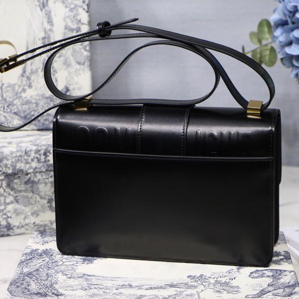 Designer borsa moda retrò in pelle one-spalla fibbia fibbia fibbia borsa diagonale pacchetto designer borsa con scatola