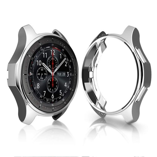New Case For Samsung Galaxy Watch 46mm 42mm Gear S3 frontier/classic General purpose TPU screen protection cover 22mm 20mm shell