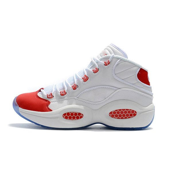 best selling Mid Q1 Basketball Answer 1s Zoom running Designer Allen Iverson Question luxury Elite Sport Shoes mens Athletic shoes Sneakers shoes EU40-45