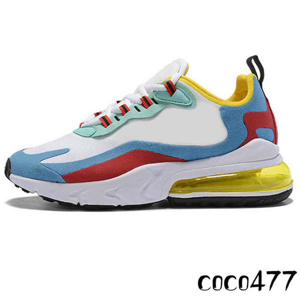 27c React Courir Shoes10 pour Hommes Femmes Bauhaus Bleu Jaune Coussins New Sug8r Tripler Noir Hyper Jade Travis Scott Formateurs Chaussures de sport