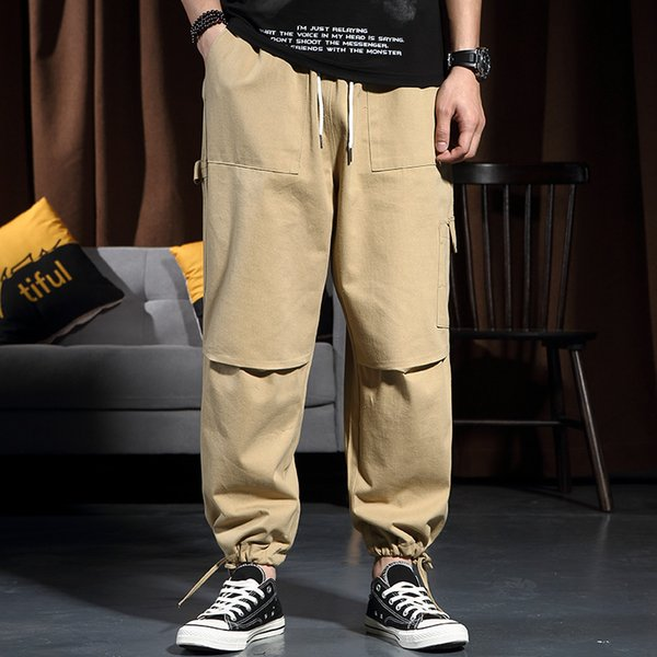 men's elastic waist plus size cargo pants Publish legacy jogger pants oversize trouser for youth boys adults spring autum season