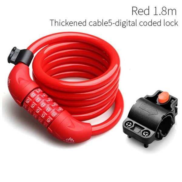Red Code Lock180cm