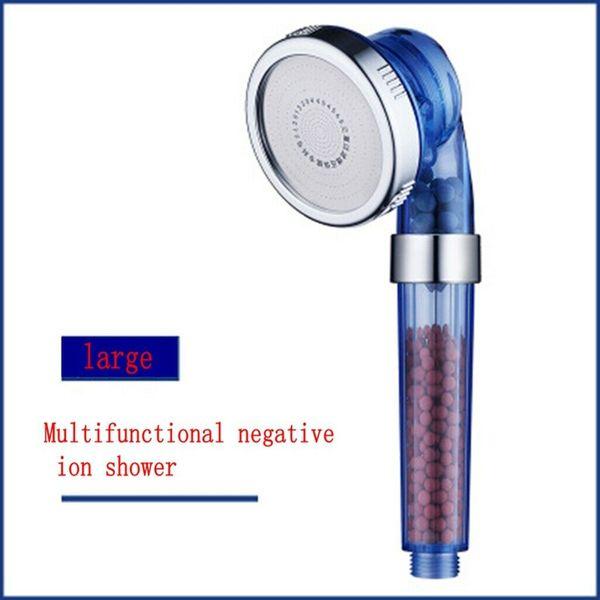 Pomme de douche à ions négatifs