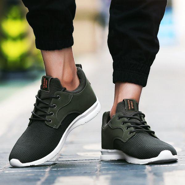f60015b9 Большие Размеры Летние Мужские Кроссовки Обувь Дышащая износостойкая  Зашнуровать Повседневная Легкая Сетка Повседневная Обувь Masculino Adulto