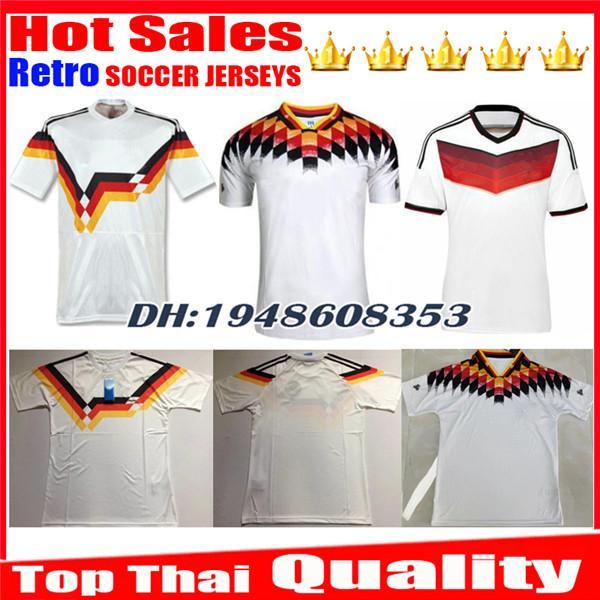 1990 1994 2014 AlemanhaS Versão retro VINTAGE CLASSIC Camisa de futebol KLINSMANN Matthias camisas para casa KALKBRENNER JERSEYs camisa de futebol