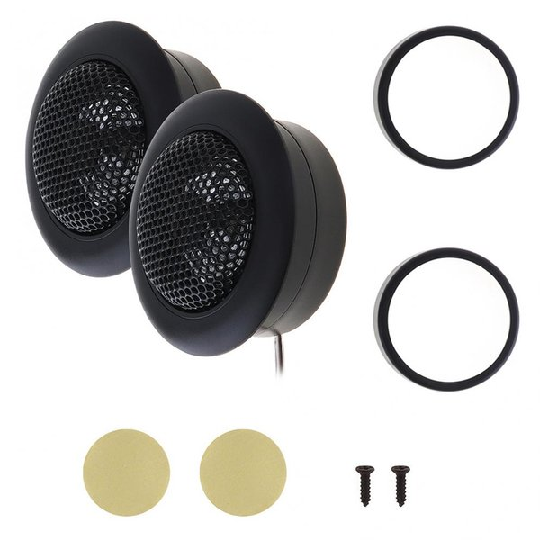 2pcs 150W Car Horn Dome Tweeter speakers Car Audio Loudspeaker Loud Speaker Automobile Stereo Treble Speaker for Cars