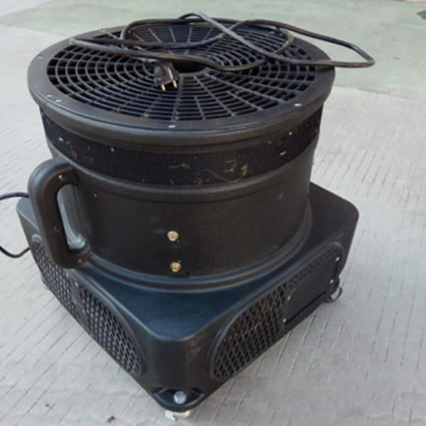 com ventilador em forma de torre