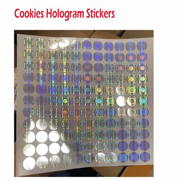 Cookies ologramma adesivi