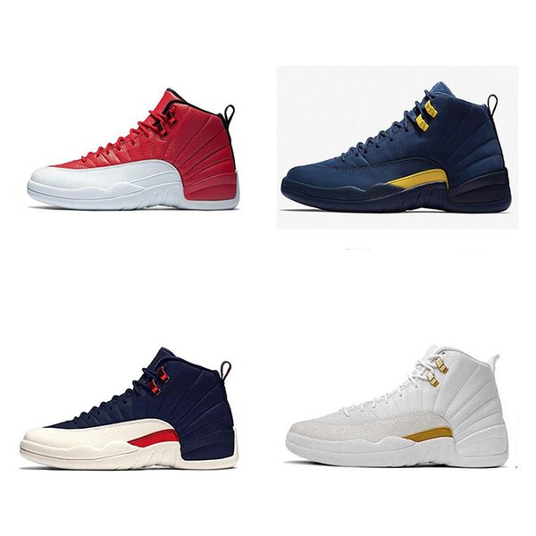 top popular New designer Chinese Year12 lRETRO CNY sneakers 12S OVO shoes mens sports shoes luxury Chicago Athletic White red shoes EUR 40-46 2021