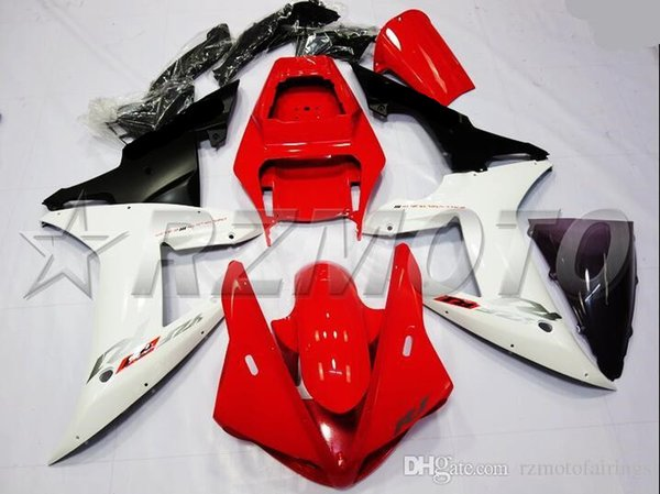 New Fairings Kits Fit For Yamaha YZF 1000 R1 02 03 YZF-R1 2002 2003 ABS Plastic Fairing set Nice white red