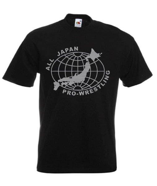 All Japan Pro Japanese Wrestling Retro Wrestling T Shirt Summer Men'S fashion Tee,Comfortable t shirt,Casual Short Sleeve TEE