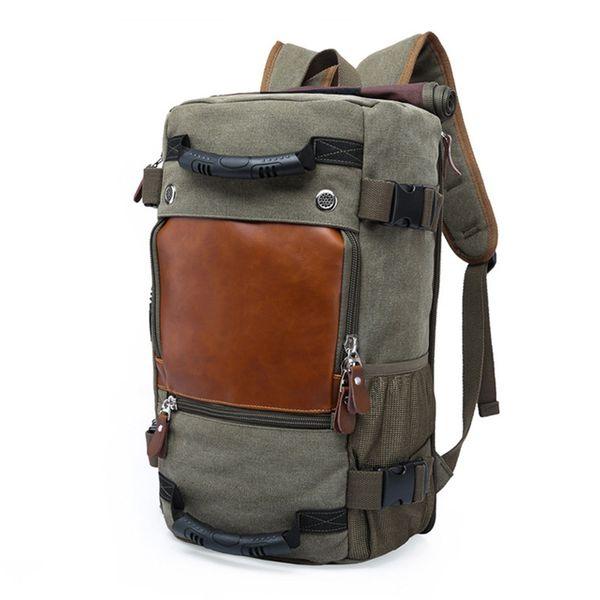 Stilvolle männliche Gepäckcomputer Backpacking Travel Große Kapazität Rucksack Funktionelle vielseitige Taschen gute Qualität