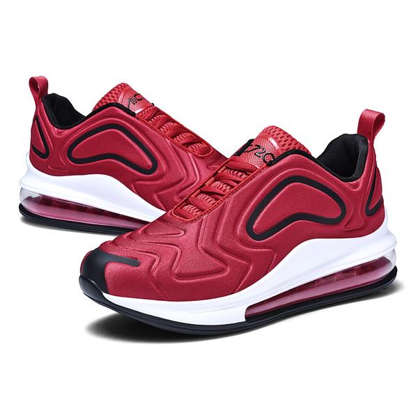 2019 Yeni erkek Spor Tasarımcı Ayakkabı Büyük Boy Moda Hava Yastığı Rahat Ayakkabılar Şok Emilimi kaymaz Koşu Ayakkabıları (Boyut 7-13)
