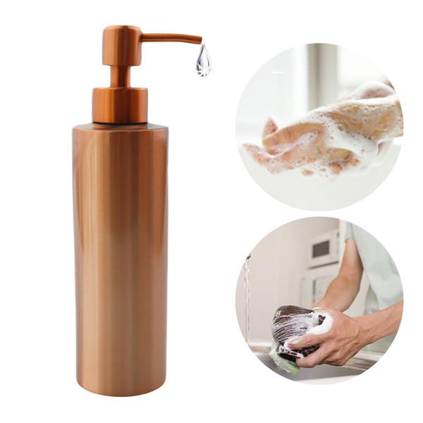 2019 Stainle Gold Kitchen Bathroom Hand Pump Liquid Soap Dispenser Lotion  Detergent Bottle Bathroom Hardware From Pingwang4, $146.04 | DHgate.Com