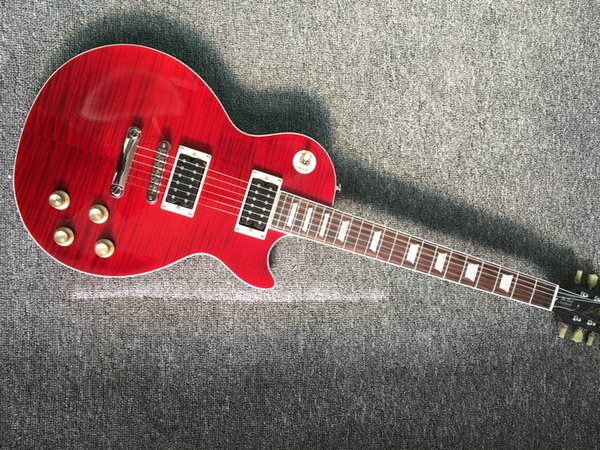 Custom Shop NEW LP Standard 1959 R9 electric guitar, frets binding, rosewood Electric guitar with hard case, Free shipping
