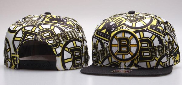 BOSTON BRUINS hat Ice Hockey Knit Beanies Embroidery Adjustable Hat Embroidered Snapback Caps Sport Knit hat 00