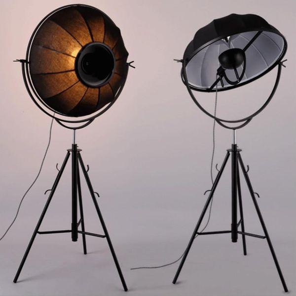 Moderne Stehlampen Earth Satellite Photography Stehleuchte von Fortuny Ornaments E27 Fabric Shade Adjust Stehlampe Wohnzimmer