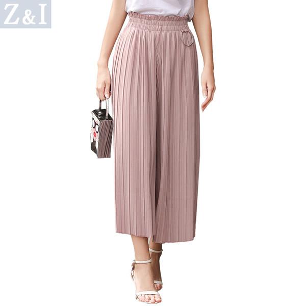 women designer leggings pants 2019 new summer cool womens casual slim sweatpants womens seven-point wide leg pants women trousers