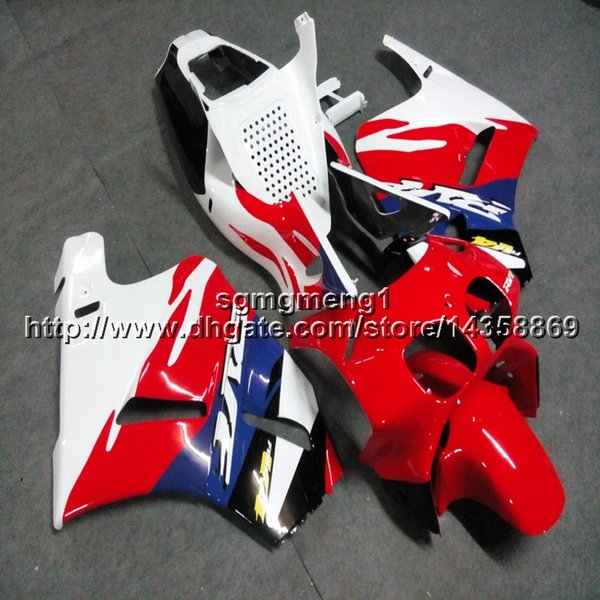 23colors+Botls red bluemotorcycle article for HONDA VFR400R NC35 94-96 V4 1994 1995 1996 ABS Fairing