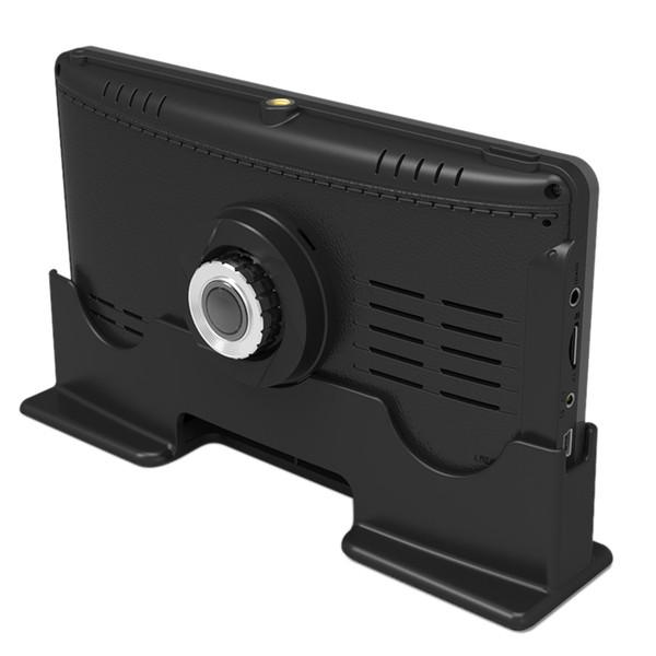 7-дюймовый 1296P Грузовик Dvr Fhd 1296P с двумя объективами Dash Cam Авторегистратор с задней камерой Ночная версия с широким динамическим диапазоном Автомобильный видеорегистратор