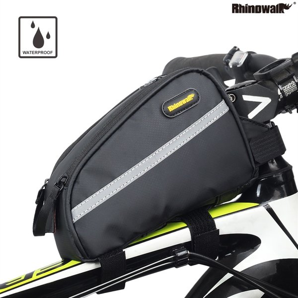 Rhinowalk Bicycle Waterproof Top Tube Bag Mountain Bike Stem Pannier Cycling Road Bike Gear Bag Pack Bicicleta Triathlon #79491