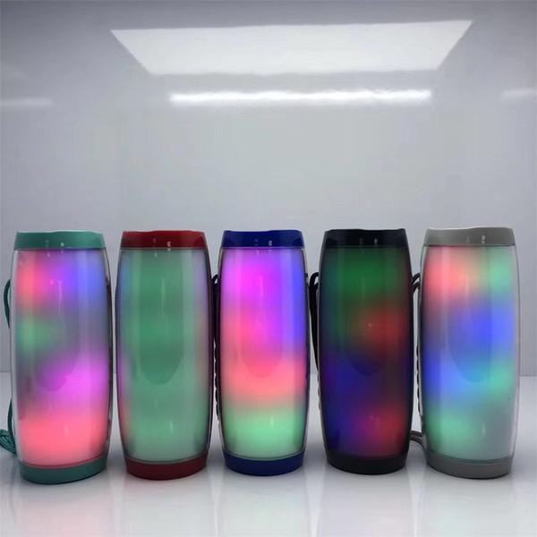 TG157 Portable LED Lampe Haut-Parleur Étanche Fm Radio Sans Fil Boombox Mini Colonne Subwoofer Sound Box Mp3 USB Téléphone Ordinateur Basse