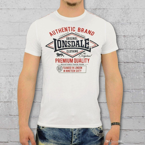Lonsdale London Camiseta de Manga Corta para Hombre