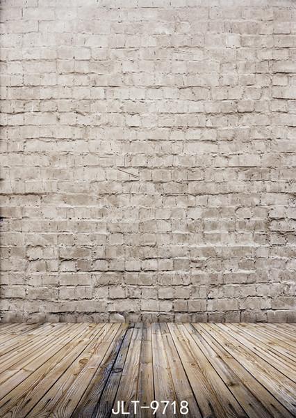 Shengyongbao Vinyl Custom Photography Backdrops Prop digital printed Vertical Wall Wood Plank theme Photo Studio Background JLT-9718