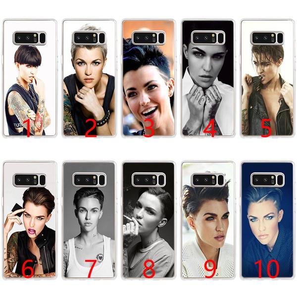 Австралийский Star Ruby Rose Мягкий силиконовый чехол для телефона для Samsung Note 9 8 S7 Edge S8 S9 Plus Обложка