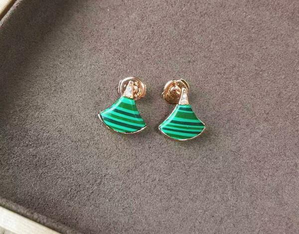 Modeschmuck Frauen Brand Design Charms Ohrring Eardrops MOQ 1PIC Tropfenverschiffen Hochwertigen Geschenk Paket Box # B