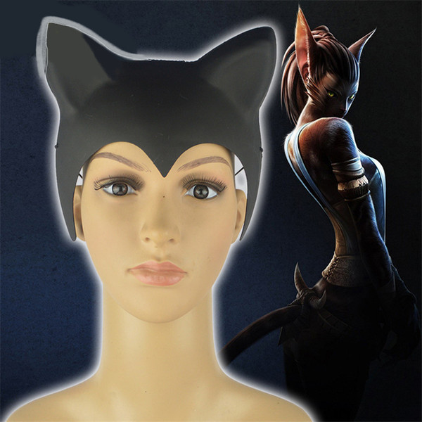 Sale 1 piece New Fashion Creative Lovely Devil Horn Cat Ears Hat Horse Riding Halloween Cap