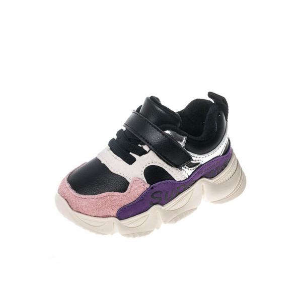 chaussures tout-petits chaussures bébé bébé chaussures bébé chaussures bébé formateurs pour bébés tout-petits A9744 détail de formateurs filles