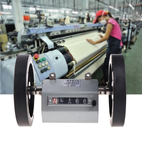 Механическая длина Distance Meter Счетчик двойной прокатки колеса 0-9999.9m