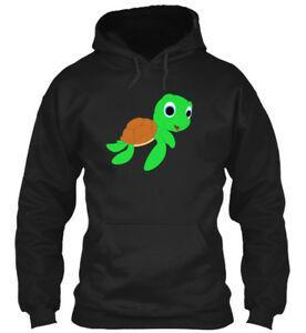 Helfen Sie, Schildkröten-Druck-Hoodie-Sweatshirt zu retten