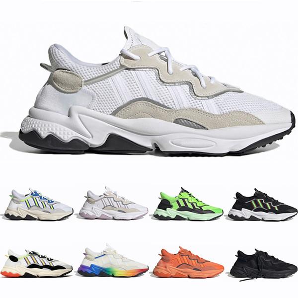 2019 Bulut Beyaz Erkek Kadın Moda Rahat Ayakkabılar Tasarımcı Dönemi Paketi Cadılar Bayramı Sesleri Üçlü Siyah Yürüyüş Açık Havada Atletik Sneakers