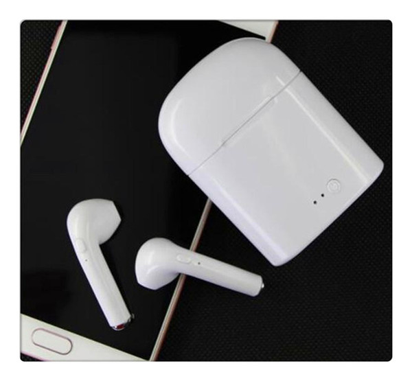 Mic Auricolare Bluetooth 4.1 Stereo HBQ I7 TWS Mini Auricolari Bluetooth Auricolari Cuffie invisibili wireless per iPhone x Android
