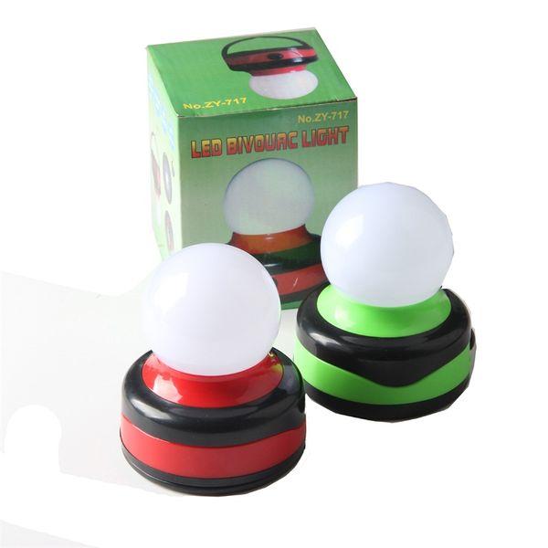 Lampada da campeggio di emergenza a LED con gancio Lampada da pesca notturna a luce portatile Luci rosse luminose piccole Vendita calda 5 5dhD1