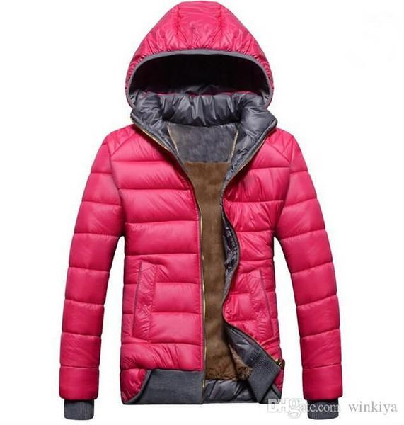 En gros-2015 nouveaux modèles féminins manteau sport plus velours doudoune hiver chaud veste à capuche des femmes amovible wd8162
