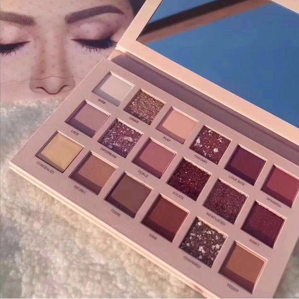 finest selection f04f1 39447 Nude Eyeshadow Palette 18 Colors Shimmer Matte Pigmented Glitter Eyeshadow  Beauty Metallic Makeup Eyeshadow Palette