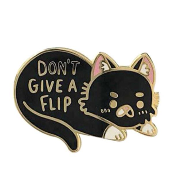 kedi emaye pin rozeti hayvan hediyesi