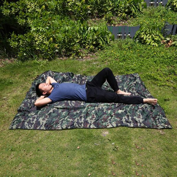 Outdoor Camping Rainproof Sun Shelter Tent Tarp Camping Picnic Almofada Survival Shelter Caminhadas Tarp Toldo