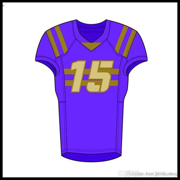 Top para hombre jerseys insignias del bordado Jersey barata de envío libre al por mayor QW794531