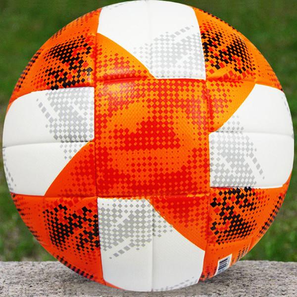 2019 Women World Cup Soccer Ball Conext 19 Match ball PU top quality seamless paste skin football ball Black