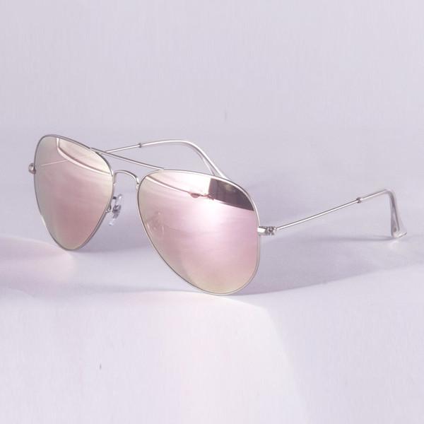 серебристо-розовое зеркало
