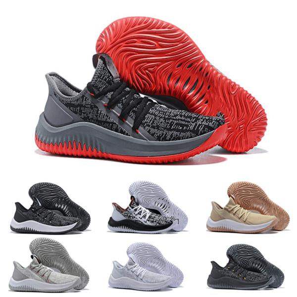 2019 Nouvelle Arrivée Dame 4.0 Hommes Designer Baskets Haute Qualité D Lillard 4 Chaussures de Basketball Rip Ville Original Sport Baskets Taille 40-46