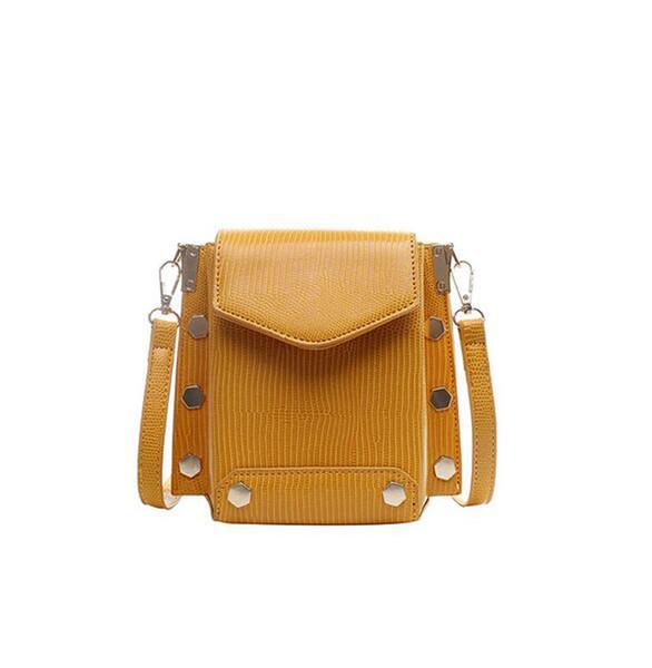 European Crossbody Shoulder bag Handbag For Girls 2019 Vintage Female Luxury Small Bag Ladies Cell Phone Purse Women Mini Messenger bag